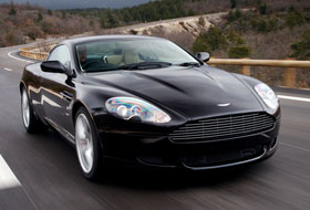 Location Aston Martin DB9 Centre