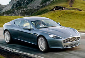 Location Aston Martin Rapide  Reims