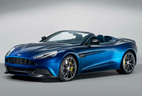 Location Aston Martin Vanquish Volante  Margency