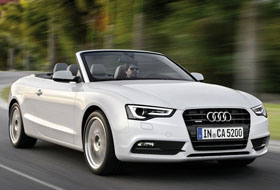 Location Audi A5 Cabriolet  Sainte-christine