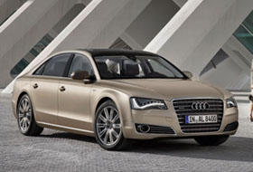 Location Audi A8  Sainte-christine