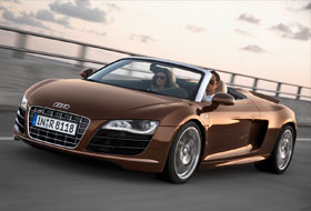 Location Audi R8 Spyder  Allonnes