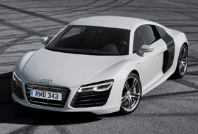Location Audi R8  Allonnes