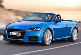 Location Audi TT Roadster  Nantes