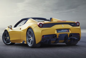 Location Ferrari 458 Aperta  Margency