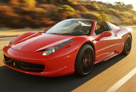 Location Ferrari 458 italia Spider  Margency