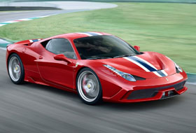 Location Ferrari 458 Speciale  Margency
