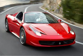Location Ferrari 458 Spider  Margency
