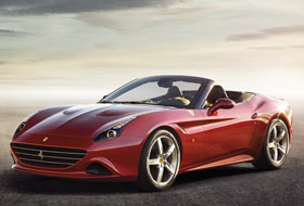 Location Ferrari California T  Margency