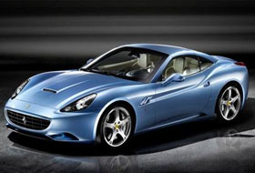 Location Ferrari California  Margency