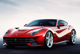 Location Ferrari F12  Margency