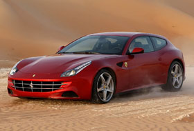 Location Ferrari FF  Margency