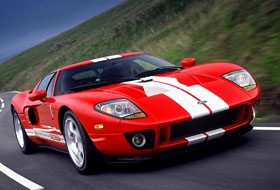 Location Ford GT Ile-de-france