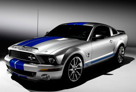 Location Ford Mustang Shelby GT 500  Auzainvilliers