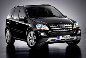 Location Mercedes ML  Boisset