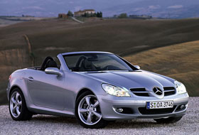 Location Mercedes SLK  Paris
