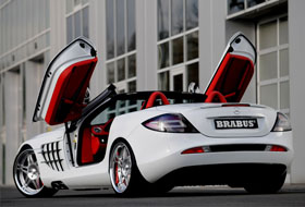 Location Mercedes SLR MC LAREN  Paris