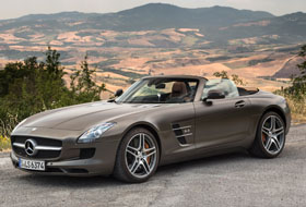 Location Mercedes SLS Roadster Alsace