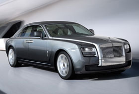 Location Rolls Royce Ghost  Servon-sur-vilaine