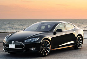 Location Tesla Model S  Bourgogne